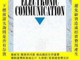 二手書博民逛書店Elements罕見Of Electronic Communication The-電子通信要素Y436638