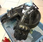 SBK防摔手套 ,長版防摔手套,SB2/黑