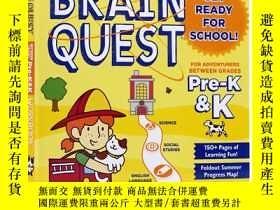 二手書博民逛書店Summer罕見Brain Quest Pre-k&k大腦任務暑