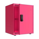 保險箱 全鋼小型密碼儲物櫃辦公家用保密收納櫃桌下可行動帶鎖鐵皮小櫃子
