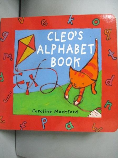 【書寶二手書T1/少年童書_GPH】Cleo's Alphabet Book_Mockford, Caroline (ILT)/ Blackstone, Stella