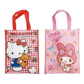 【KP】三麗鷗中提袋 Hello Kitty 美樂蒂 手提袋  購物袋 正版授權 DTT0522347