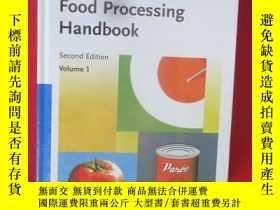 二手書博民逛書店Food罕見Processing Handbook, 2 Vol