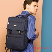 雙肩包後背包防潑水 夢特嬌 多功能商務後背包
