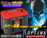 OPTIMA美國電瓶 紅霸電池 速霸陸 森林人 MAZDA 3 馬自達 6 CX5 CX7