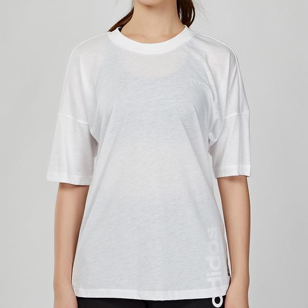 Adidas Must Haves 3-Stripes Tee 女款 白色 三線 運動 休閒 短袖 上衣 EB3821