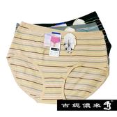 吉妮儂來 6件組舒適加大尺碼彩紋媽媽褲(隨機取色)