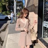 155小個子氣質女神範衣服小香風內搭打底針織毛衣洋裝子女秋冬 【傑克型男館】