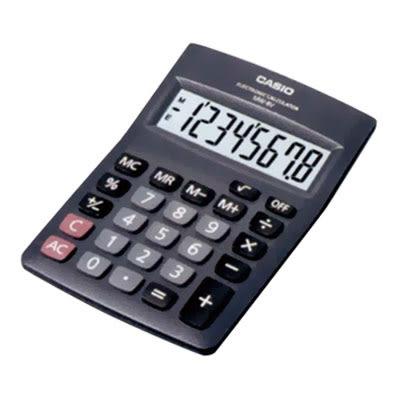 卡西歐CASIO國家考試桌上型計算機MW-8V8位元【KO01002】聖誕節交換禮物 99愛買生活百貨