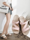 防滑拖鞋 涼拖鞋女外穿夏季家用室外夏天防滑涼鞋室內居家女士拖鞋 晶彩 99免運