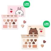 韓國 MISSHA x LINE 聯名款眼影腮紅盤 眼影 眼影盤 腮紅 熊大 兔兔