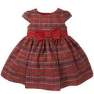 mothercare 秋冬女嬰洋裝-小奢華-紅色格子(M0C0653)24M、36M