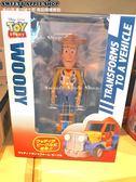 (現貨&樂園實拍)  東京迪士尼 玩具總動員 胡迪  2way變形模型公仔&汽車模型玩具車