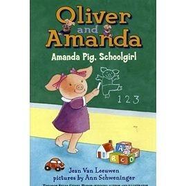 【小豬兄妹】AMANDA PIG, SCHOOLGIRL