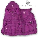 1件郵寄免運~超低價350~深紫可拆式連帽內刷毛鋪棉外套 RQPOLO [2612]