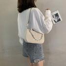 手提包 夏季小包包2020流行新款潮網紅單肩斜背包/側背包女百搭ins法棍腋下包