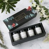 週年慶優惠兩天-精油香氛安神助眠無煙宜家蠟燭伴手禮生日禮物香薰蠟燭禮盒