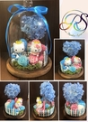永生花玻璃罩系列,KT夢幻花園
