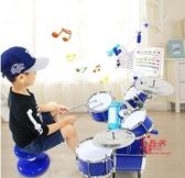 架子鼓 專業架子鼓兒童初學者爵士打鼓樂器男女孩玩具3-6歲5練手神器T