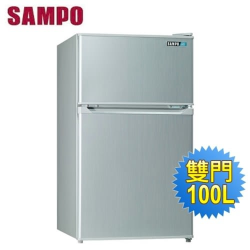 SAMPO 聲寶 100公升 雙門冰箱