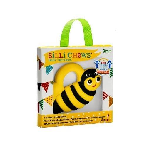 美國 Silli Chews 小蜜蜂咬牙器(固齒器)SC-1[衛立兒生活館]