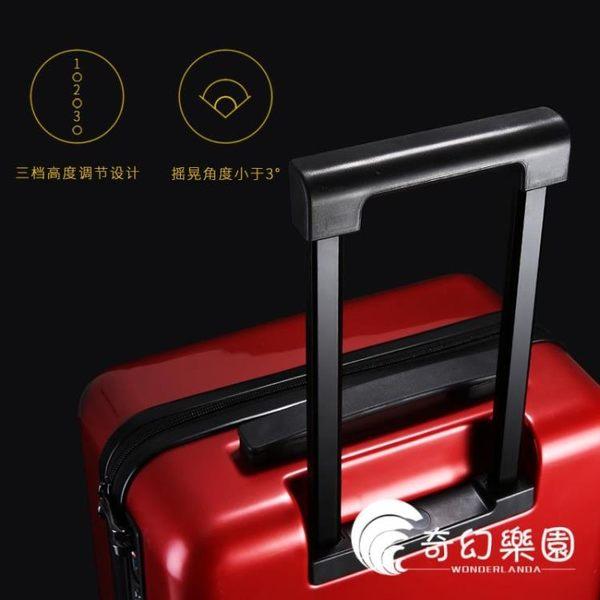 行李箱-行李箱女韓版小清晰大學生萬向輪旅行箱20寸24寸密碼鎖可愛拉桿箱-奇幻樂園