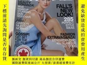 二手書博民逛書店FLARE罕見(Canada s fashion magazin