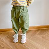 洋氣束腳休閒褲韓版寬鬆長褲兒童工裝褲男童寶寶【聚可愛】