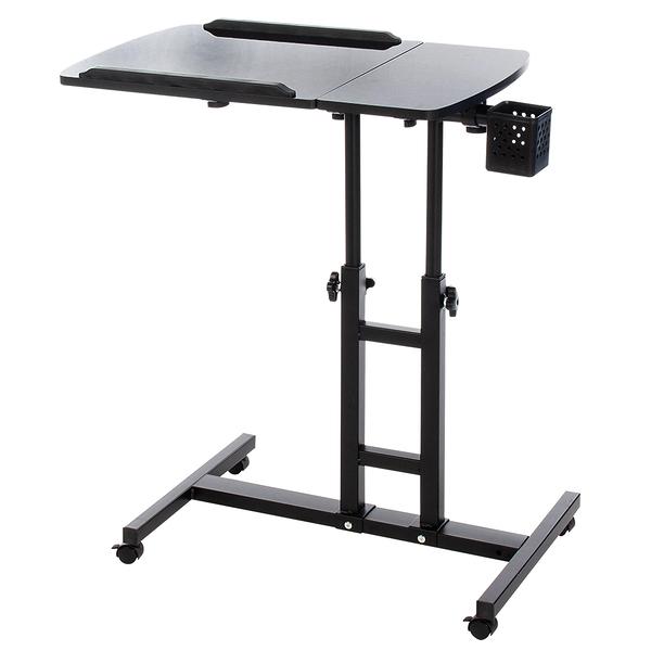 威瑪索 電腦桌 360度升降工作桌-霧黑 懶人桌 電腦桌 NB桌 邊桌