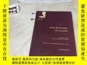二手書博民逛書店英文原版;Frost罕見Resistance of ConcreteY182979 出版2009