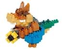 《 Nano Block 迷你積木 》NBCC_102袋狼大進擊 Dingodile / JOYBUS玩具百貨