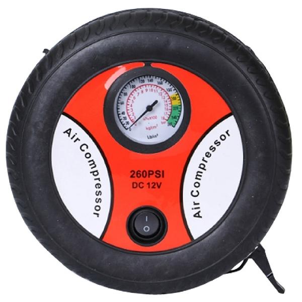 【3期零利率】福利品 汽車充氣幫浦 2.8米充電線 精準氣壓 多用途充氣 球類/機車/游泳圈 好攜帶