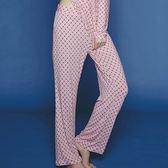 【瑪登瑪朵】家居系列長褲(圓點粉)(未滿3件恕無法出貨,退貨需整筆退)
