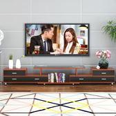 電視柜茶幾簡約現代客廳組合北歐臥室簡易電視機柜小戶型伸縮地柜 時尚教主