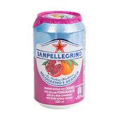 聖沛黎洛氣泡水柑橘紅石榴330ml【愛買】