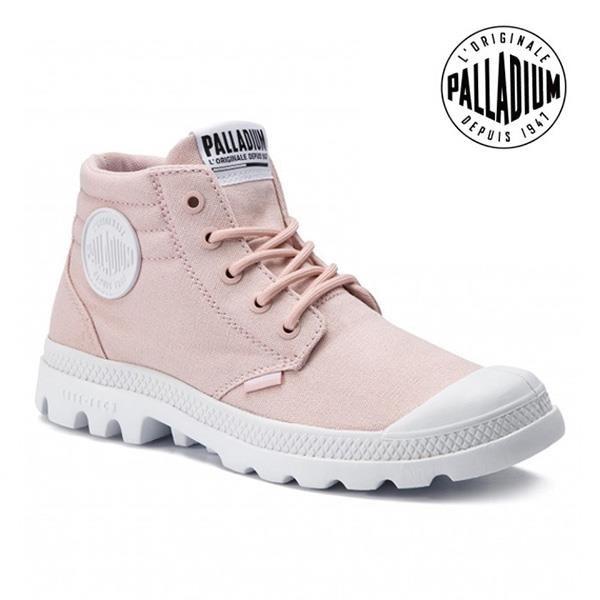 【南紡購物中心】【PALLADIUM】BLANC LITE LOW CUFF 太空輕量中筒靴 / 蜜桃裸粉 女鞋