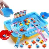 一兩三周半兒童男女小孩1-2-3-4歲寶寶生日禮物 幼兒益智釣魚玩具