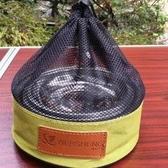 ♥巨安網購♥【106060316】不銹鋼碗碟套戶外野營飯碗湯碗菜盤燒烤餐具 12個套裝(附收納袋)
