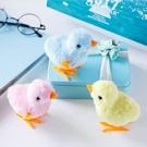 可愛仿真小雞跳跳會跑的發條玩具兒童男女寶寶小孩上鏈迷你小玩具