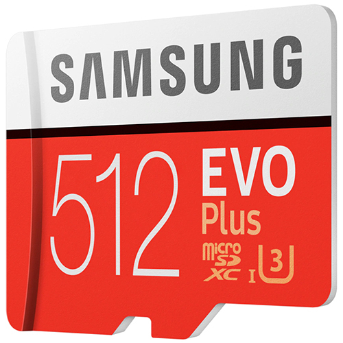 Samsung 三星 EVO Plus 512GB microSDXC 記憶卡 (MB-MC512GA/APC)