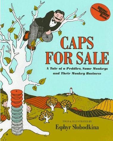 『繪本123‧吳敏蘭老師書單』『童書久久書單』-- CAPS FOR SALE《賣帽子》