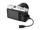又敗家@JJC相機線K2R連接器將RR80 RR-80快門線轉成RR90 RR-90快門線遙控器適Fujifilm X-Pro2 X-A3 X-A2 X-A1 X-A10