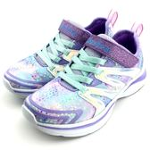 《7+1童鞋》中大童 SKECHERS 81421LLVMT 輕量 休閒 慢跑 運動鞋 B976 紫色