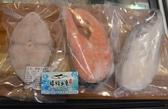 【禧福水產】鮭魚/深海鱈魚/土魠魚/輪切三兄弟◇$特價699元/1.5kg/三片◇最低價日本料理熱炒團購
