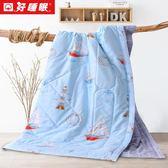 雙12鉅惠好睡眠棉花夏被空調被薄被子可水洗夏涼被全棉100%里外純棉被芯 夢曼森居家