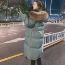連帽外套夾克外套 修身顯瘦棉服女生外套 中長款棉襖女士外套 韓版外套羽絨外套 冬季加厚上衣