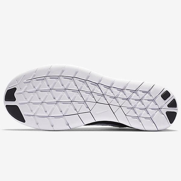 NIKE FREE RN 2017 女鞋 慢跑 訓練 編織 無車縫 輕量 黑 白 【運動世界】 880844-001