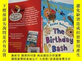 二手書博民逛書店the罕見birthday bash 生日聚會..Y200392