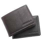頭層牛皮錢包短夾 駕駛證件多卡位銀行卡包《印象精品》e274