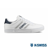 【K-SWISS】Court Lite Spellout休閒運動鞋-男-白/藍(06147-132)